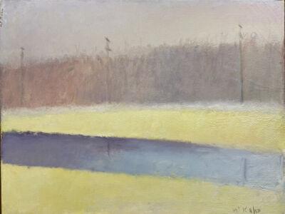 Wolf Kahn, 'Delaware Canal', ca. 1990-2010