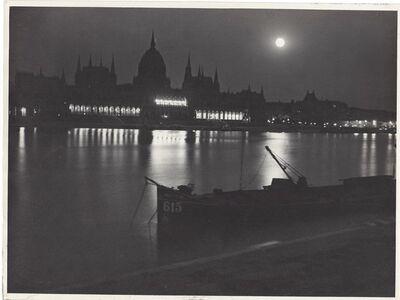 Jenő Dulovits, 'Budapest in the Evening', ca. 1935