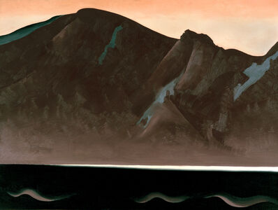 Georgia O'Keeffe, 'Mountain at Bear Lake—Taos', 1930