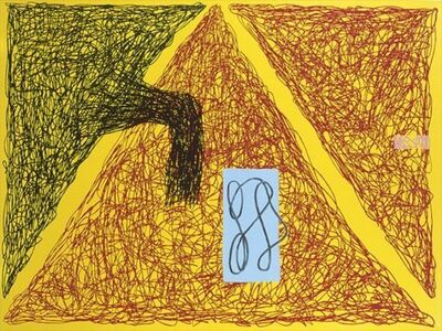 Jonathan Lasker, 'Born Yesterday', 1989