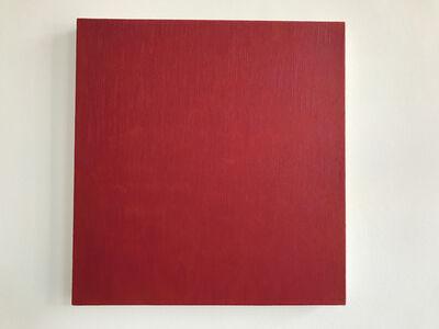 Marcia Hafif, 'Late Roman painting: Permanent Carmine', 1996