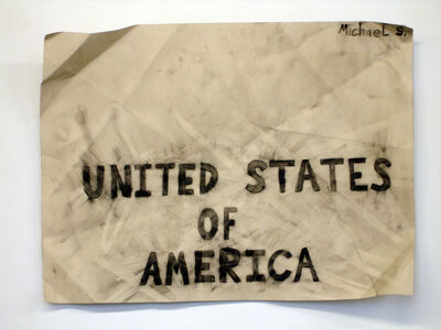 Michael Scoggins, 'United States of America', 2011