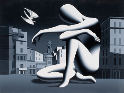 Mark Kostabi, 'Larger than Life', 1999