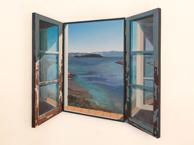 Paul Critchley, 'Reclusive Island', 2017