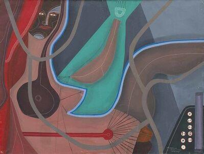 "Carlos Páez Vilaró, '""Mujer de pelo largo""', 1982"