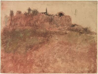 Edgar Degas, 'Estérel Village', c. 1890