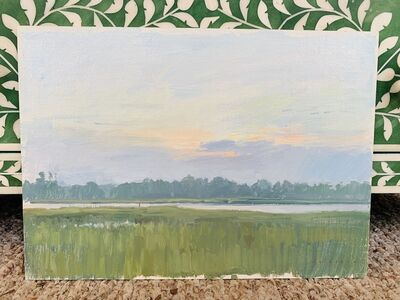 Marc Dalessio, 'Dawn Over the Marsh', 2017