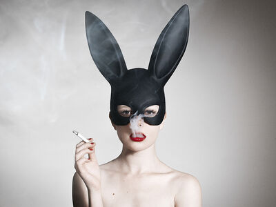 Tyler Shields, 'Bunny', ca. 2015