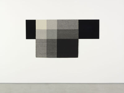Andrea Zittel, 'Parallel Planar Panel (black, dark grey, light grey, off-white)', 2014