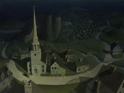 Grant Wood, 'The Midnight Ride of Paul Revere', 1931