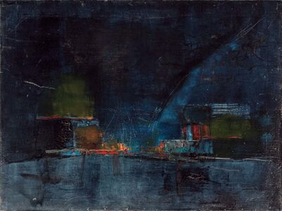 Nasreen Mohamedi, 'Night'