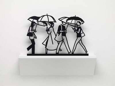 Julian Opie, 'Summer Rain 1 (from Summer Rain)', 2020