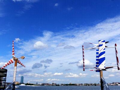 Lyn Barlotta, 'East River Windmill Expo'