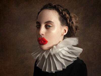 Romina Ressia, 'Red Lips', 2018