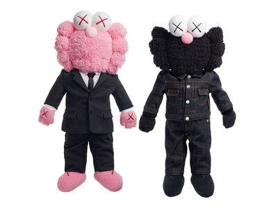 KAWS, 'Dior BFF Plush Pink and Black ', 2018