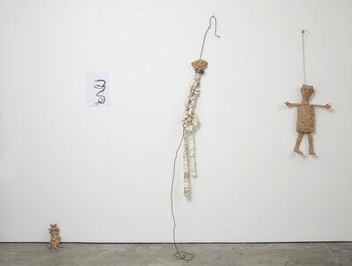 Chiara Camoni, 'Situation with four figures', 2014