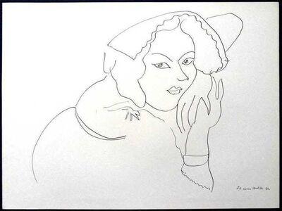 """Henri Matisse, 'Lithograph """"Woman"""" after Henri Matisse', 1943"""