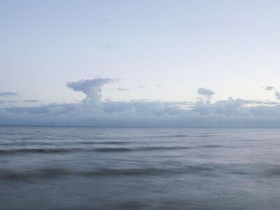 Donald Weber, 'Juno Beach - October 5, 2013, 6:59am. 13ºC, 93% RELH, Wind W, 9 Knots. VIS: Fair, Broken Clouds', 2013