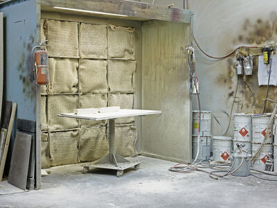 Susana Reisman, 'Finishing room (Johny's Finishing Shop), Ontario', 2015