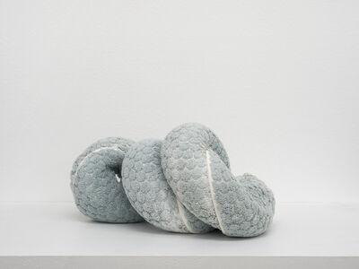Oren Pinhassi, 'Towel Snake (turquoise III)', 2018