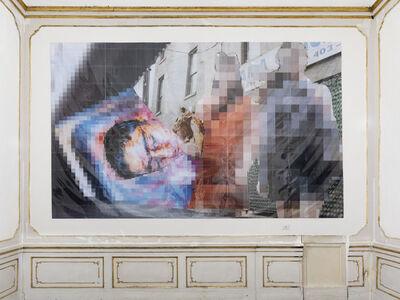 Thomas Hirschhorn, 'Pixel-collage n°84', 2017
