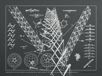 R. Buckminster Fuller, 'TENSILE-INTEGRITY STRUCTURES - TENSEGRITY', 1981