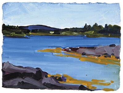Susan Headley Van Campen, 'From Pendleton Point, Islesboro '