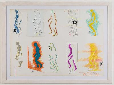 Umberto Bignardi, 'Uomo che sale (da Muybridge)', 1966