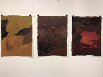 Nicole Maynard-Sahar, 'Untitled triptych ', 2018