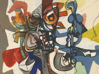Fred Becker, 'Composition', 1950