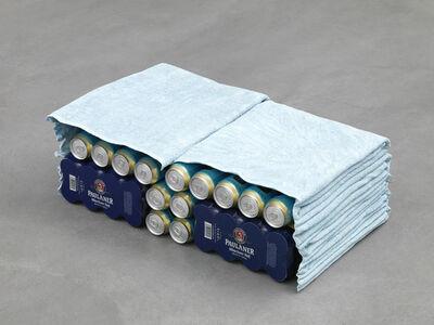Liz Magor, 'Double Cabinet Blue', 2001