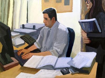 Anna Lukashevsky, 'Lawyer at Work', 2018