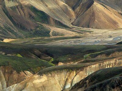 Olivier Föllmi, 'Landmannalaugar, l'une des régions les plus spectaculaires de l'Islande', August 2008 Printed 2013