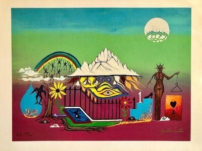 "Jonathan Winters, 'Hand Signed Screenprint on Canvas Painting Ltd Ed. Hollywood ""Hang Ups"" Pop Art', 1980-1989"