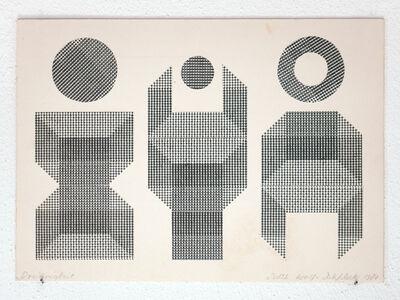 Ruth Wolf-Rehfeldt, 'dreieinigkeit', 1980