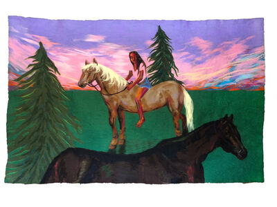 Ally White, 'The Horsewoman', 2018