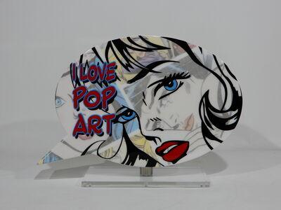 """Erik Salin, 'Speech Bubble """"I Love Pop Art""""', 2018"""