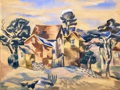 Jan Matulka, 'Untitled (Houses)', ca. 1930