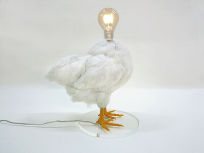 Sebastian Errazuriz, 'Chicken Lamp', 2014