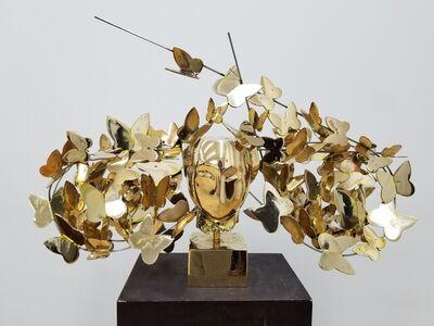Manolo Valdés, 'Mariposas Doradas (Golden Butterflies)', 2017