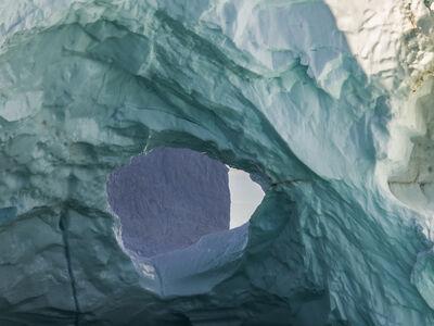 Diane Tuft, 'Ultraviolet Shapes, Disko Bay, Greenland', 2016