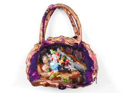 Annelie McKenzie, 'Tiny Enchanted Purple Purse (after Anne Vallayer-Coster)', 2018