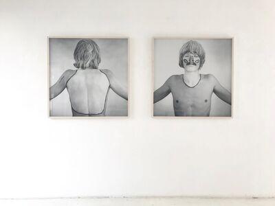 Timm Ulrichs, 'THE WHITE SPOTS OF MY BODY LANDSCAPE /DIE WEIßEN FLECKEN MEINER KÖRPERLANDSCHAFT', 1968