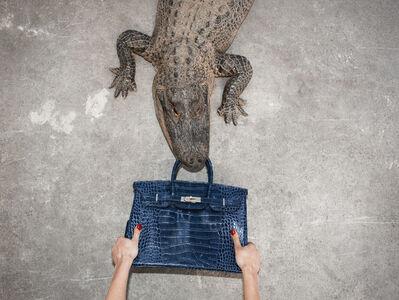 Tyler Shields, 'Gator Birkin Hands', N/A