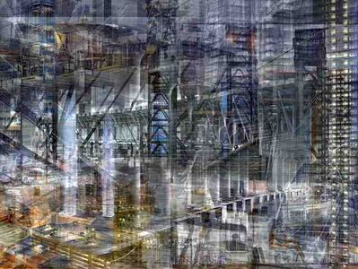 Shai Kremer, 'World Trade Centre: Concrete Abstract No. 16 ', 2001