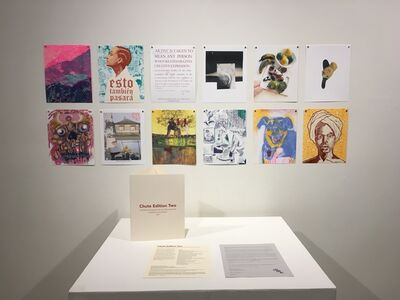 Chute Studio, 'Chute Edition Two: A portfolio of Risograph prints by 12 Bay Area artists ', 2021