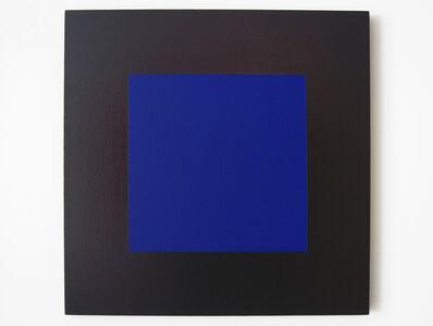 Claude Tousignant, 'Quadrangle #1 en bleu et brun-rouge (suite Hommage à Malevitch)', 2008