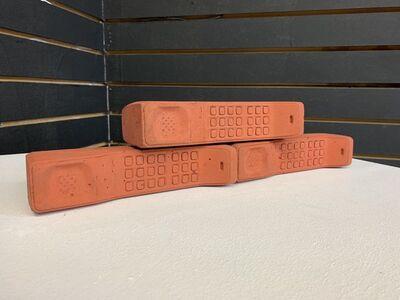 Gustavo Barroso, 'Brick Phone Brick', 2019