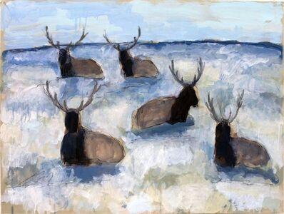 Theodore Waddell, 'Winter Elk Dr. #2', 2019