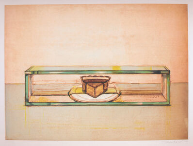 Wayne Thiebaud, 'Pie Case ', 2002